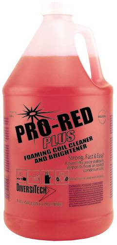 PRO-RED+ NON-ACID CONDENSER COIL CLEANER, 1 GALLON