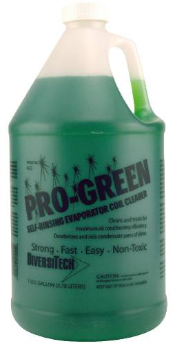 PROFESSIONAL STRENGTH COIL CLEANER GREEN NO RINSE GAL CONCENTRAT