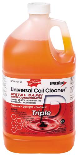 TRIPLE-D UNIVERSAL CONDENSER AND EVAPORATOR COIL CLEANER - 1 GAL
