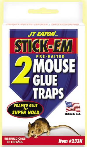 MOUSE GLUE TRAP 2 PACK