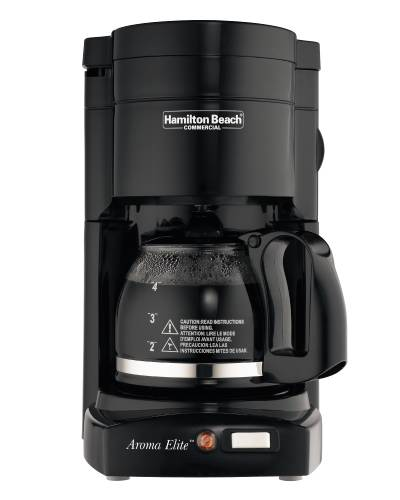 COMMERCIAL COFFEE MAKER 4 CUP