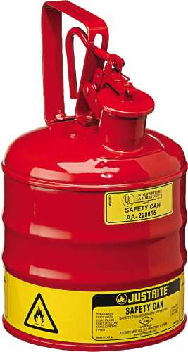 TYPE 1 RED SAFETY CAN 1 GALLON