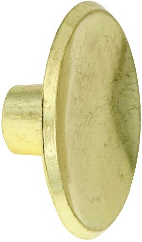 CABINET KNOB 1-7/8 IN. POLISHED BRASS