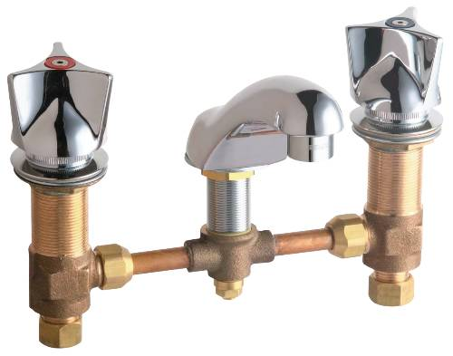 CHICAGO WIDESPREAD LAVATORY FAUCET