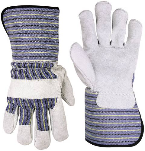 CLC LEATHER PALM WORK GLOVES, EXTRA LARGE