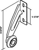 KITCHEN DRAWER REAR ROLLER RIGHT HAND 13/16 IN.