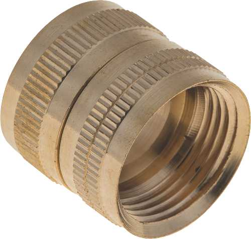 BRASS HOSE ADAPTER SWIVEL 3/4 IN. FHT X 3/4 IN. FIP