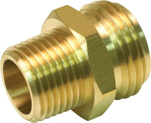 BRASS HOSE ADAPTER 3/4 IN. MHT X 3/4 IN. MIP X 1/2 IN. FIP TAPPE