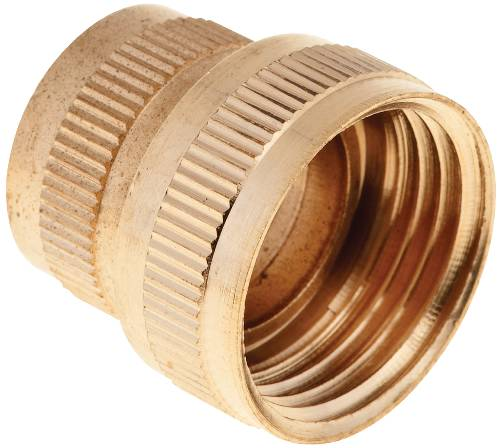 BRASS HOSE ADAPTER SWIVEL 3/4 IN. FHT X 3/4 IN. FHT