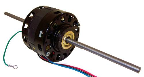 BLOWER MOTOR DOUBLE SHAFT 1/6""