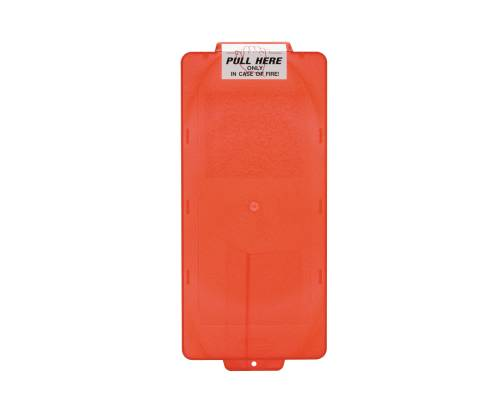 FIRE EXTINGUISHER CABINET COVER SMALL RED
