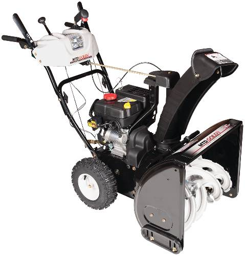 SNOWTHROWER 5 HP 2 STAGE 24' 4 CYCLE