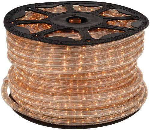 LIGHTING ROPE LIGHT STYLE CLEAR 5.5 WATT PER FOOT 150 FT. ROLL