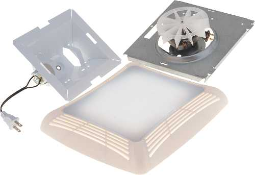 CEILING EXHAUST FAN UNIT MOTOR/GRILLE COVER FOR NU-763RL769RLA