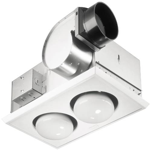 CEILING BATH VENT AND HEAT 500 WATT USE 2-250W BR40 NOT INCLUD W