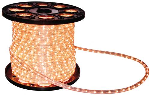 LIGHTING ROPE LIGHT STYLE CLEAR 5.5 WATT PER FOOT 50 FT. ROLL