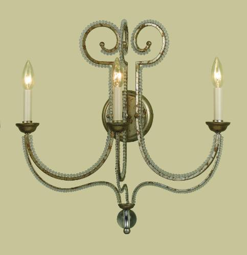 3 LITE WALL SCONCE