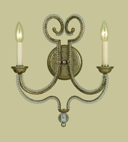 2 LITE WALL SCONCE