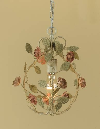 #(1) 1 LIGHT CHANDELIER