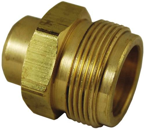 GAS CYLINDER ADAPTER MALE 1 IN. 20 M X 1/4 IN. FEMALE