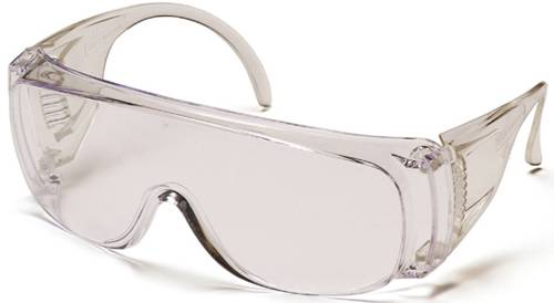 PROTOGUARD GOGGLES SAFETY CLEAR UNCOATED