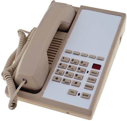 SINGLE LINE DESK PHONE