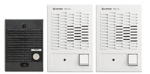 AIPHONE CHIME COM-BOXED SET 1 DOOR - 2 INSIDE STATIONS