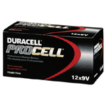PROCELL INDUDTRIAL BATTERIES 9V-CELL ALKALINE