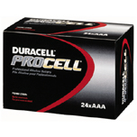 PROCELL INDUSTRIAL BATTERIES AAA-CELL ALKALINE