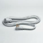 EXT CORD 15 FT 1-OUTLET 3-PRONG GRA