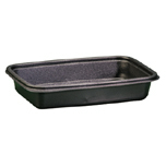 CNTR MICROWAVE SAFE RECTANGLE 24OZ BLA 4/75