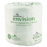 ENVISION T/T EMBOSSED 2P WHI 80/550