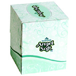 ANGEL SOFT CUBE FCL TISS 2P WHI 30/96
