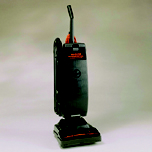 COMM UPRIGHT VAC 12 IN W/ TOOLS & MICROFILTER