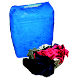 NEW COLORED POLO RAGS BOX 10LBS