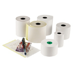"3""X100' 2 PLY CARBONLESS REGISTER ROLL 3/10'S"