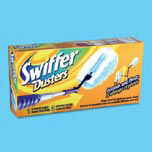 SWIFFER DUSTER W/3FT EXT & 2 DUSTER 12