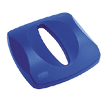 PAPER RECYCLING TOP BLUE