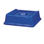 SLIM JIM RECYCLING CNTNR TOP FOR 3958/3959BLU 4/CTN