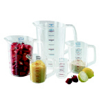 MEASURING CUP 1 PINT CLE 6/CTN