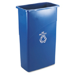 SLIM JIM RECYCLING CNTNR 23 GL 20X11X30 BLU 4/CTN