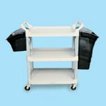 XTRA 3-SHELF UTILITY CART OPEN SIDED CRM