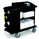 COMPACT HOUSEKEEP CART 49X22X50 BLA