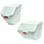 SAFETY STORAGE BIN 100 CUP WHI