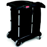 TURNDOWN HOUSEKEEP CART 38.75X22X44 BLA