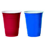 CUP PLS PRTY 16OZ RED 50/PK 20/CS