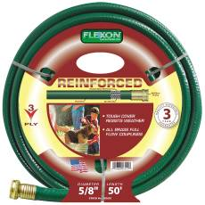 GARDENHOSE 3-PLY 5/8 X 50FT