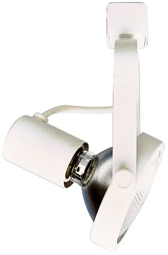TRACK LIGHT HEAD GIMBAL RING PAR 30 WHITE